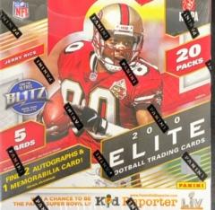2020 Panini Donruss Elite NFL Football Hobby Box