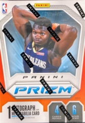 2019-20 Panini Prizm NBA Basketball Blaster Box