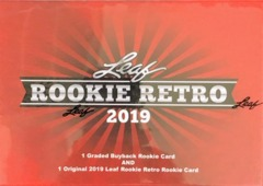 2019 Leaf Rookie Retro Hobby Box