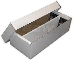 1600 Count Cardboard Storage Box - White