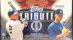 2021 Topps Tribute MLB Baseball Hobby Box
