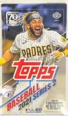2021 Topps MLB Baseball Series 2 Hobby Box