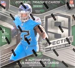 2020 Panini Spectra NFL Football Hobby Box