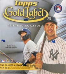 2018 Topps Gold Label MLB Baseball Hobby Box