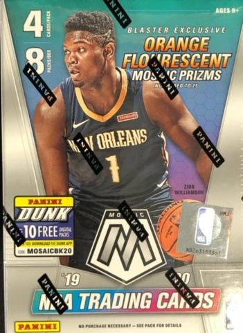 2019-20 Panini Mosaic NBA Basketball Blaster Box