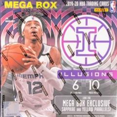 2019-20 Panini Illusions NBA Basketball Mega Box