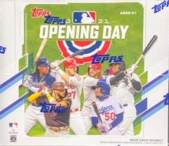 2021 Topps Opening Day MLB Baseball Hobby Bo