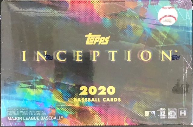 2020 Topps Inception MLB Baseball Hobby Box