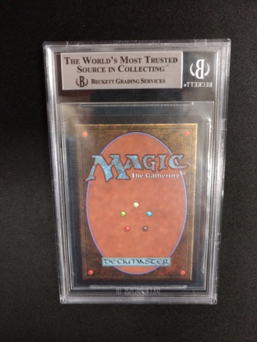 Twiddle BGS 8.5 NM-MT+ Beta MTG Magic Graded Card