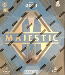 2019 Panini Majestic NFL Football Hobby Box
