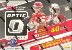2019 Panini Donruss Optic NFL Football Hobby Collector Box