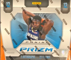 2019-20 Panini Prizm NBA Basketball Jumbo Hobby Box