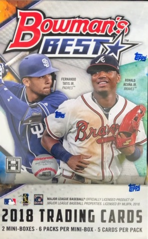 2018 Bowmans Best MLB Baseball Hobby Box