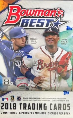 2018 Bowmans Best MLB Baseball Hobby Box