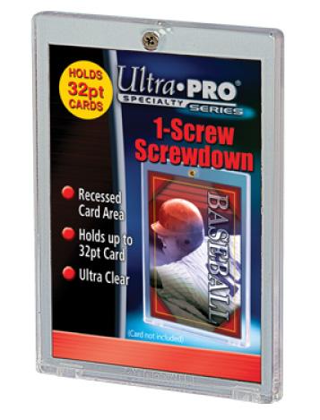Screwdown 1-Screw 32pt Card Holder