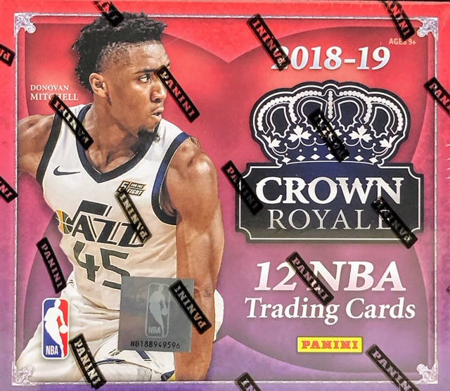 2018-19 Panini Crown Royale NBA Basketball Hobby Box