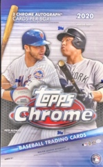 2020 Topps Chrome MLB Baseball Hobby Box