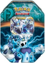 Pokemon EX 2013 Fall Collector's Tin Team Plasma - Thundurus