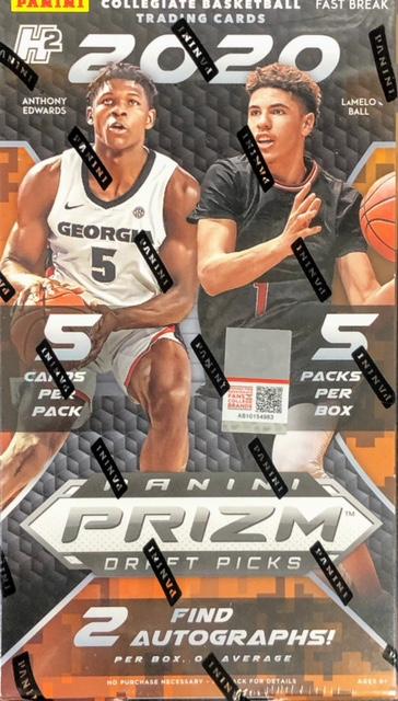 2020-21 Panini Prizm Draft Picks Collegiate Basketball Fast Break Box