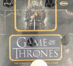 2020 Game of Thrones The Complete Series Trading Cards Hobby Box by Rittenhouse