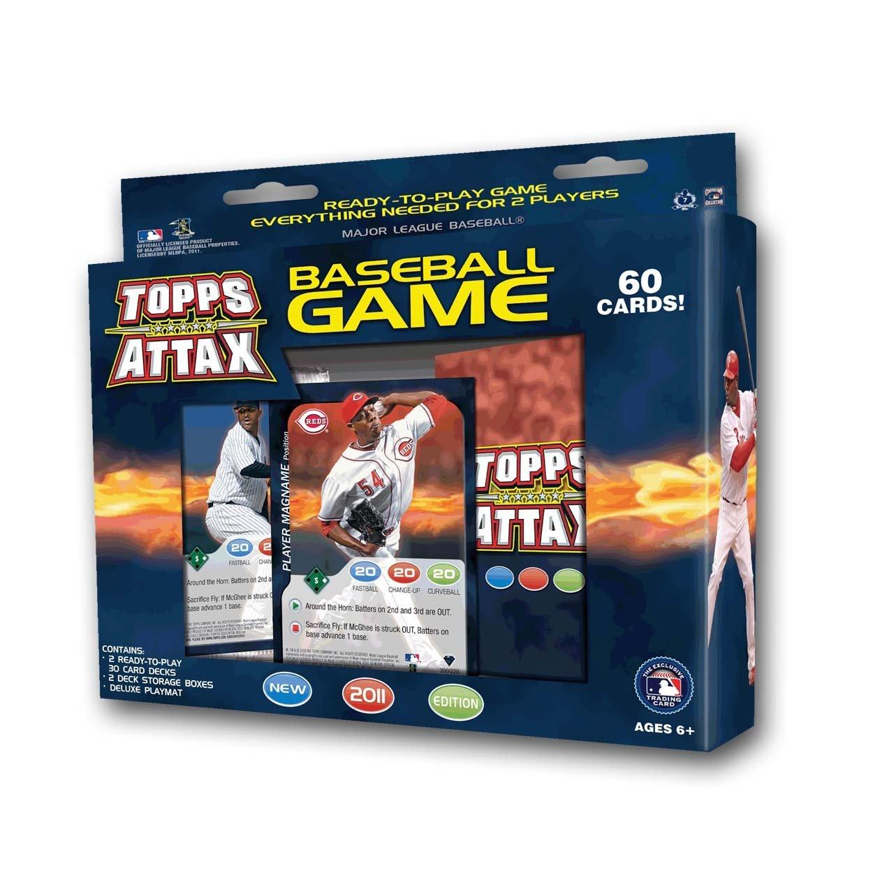 2011 Topps Attax MLB Baseball Game Starter Deck