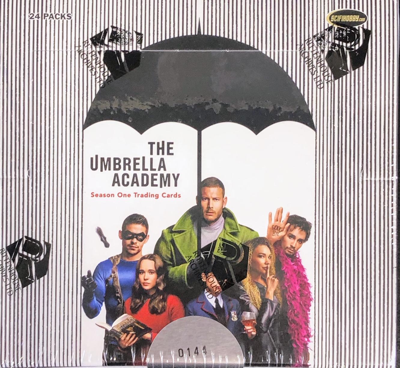 The Umbrella Academy Season One Trading Cards Hobby Box by Rittenhouse
