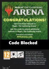Unused MTG Arena Code Card: Zendikar Rising Promo Pack (LIMIT 5)