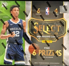 2019-20 Panini Select NBA Basketball Hybrid Edition Box