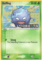 Koffing - 62/107 - Common - Reverse Holo
