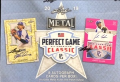 2019 Leaf Metal Perfect Game All-American Classic Baseball Hobby Box