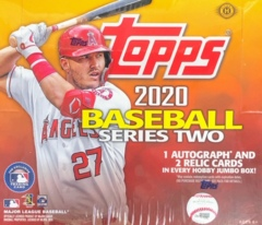 2020 Topps MLB Baseball Series 2 Jumbo Box