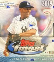 2019 Topps Finest MLB Baseball Master Hobby Box