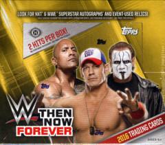 2016 Topps WWE Then, Now, Forever Wrestling Trading Cards Hobby Box