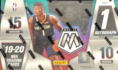 2019-20 Panini Mosaic NBA Basketball Hobby Box