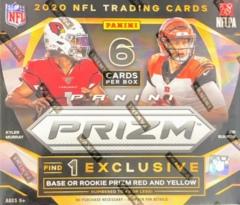 2020 Panini Prizm NFL Football Tmall Box