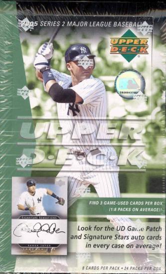 2005 Upper Deck Series 2 MLB Baseball Hobby Box