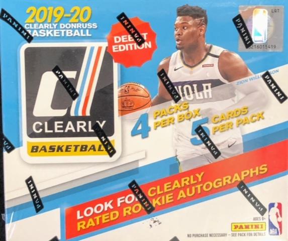 2019-20 Panini Clearly Donruss Basketball Hobby Box
