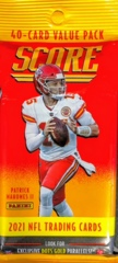 2021 Panini Score NFL Football 40-card Value Pack