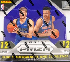 2018-19 Panini Prizm NBA Basketball Hobby Box