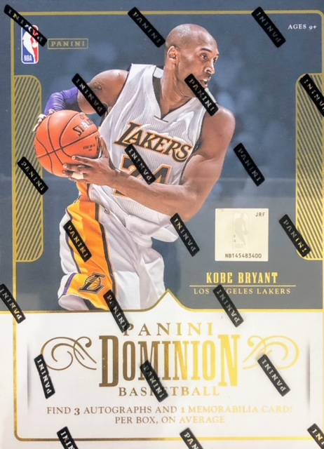 2017-18 Panini Dominion NBA Basketball Hobby Box