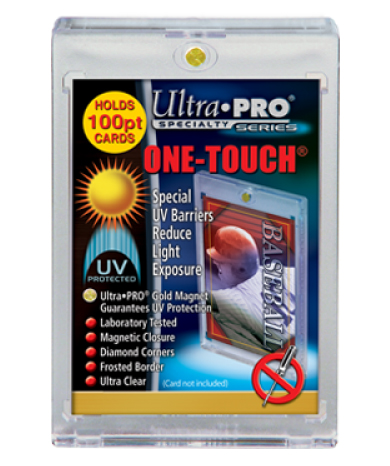 Ultra Pro 100pt Magnetic Closure One-Touch Card Holder
