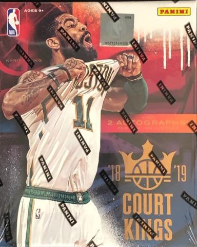 2018-19 Panini Court Kings NBA Basketball Hobby Box