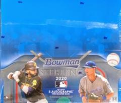 2020 Bowman Sterling MLB Baseball Hobby Box