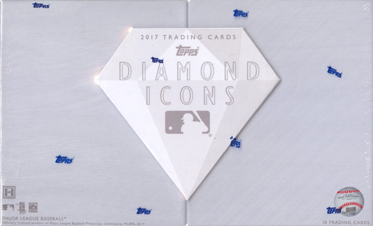 2017 Topps Diamond Icons MLB Baseball Hobby Box
