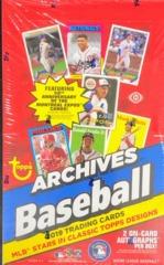 2019 Topps Archives MLB Baseball Hobby Box