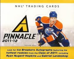 2011-12 Panini Pinnacle NHL Hockey Hobby Box