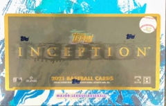 2021 Topps Inception MLB Baseball Hobby Box
