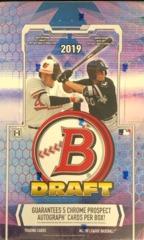 2019 Bowman Draft Baseball Super Jumbo Box