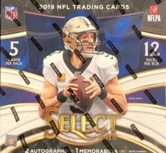 2019 Panini Select NFL Football Hobby box