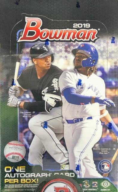 2019 Bowman MLB Baseball Hobby Box
